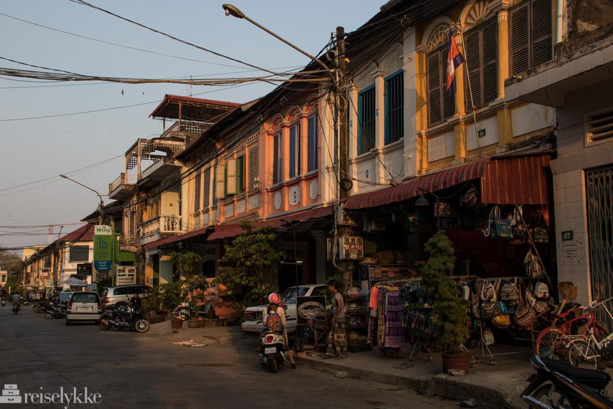Gyldne farger i Kampot