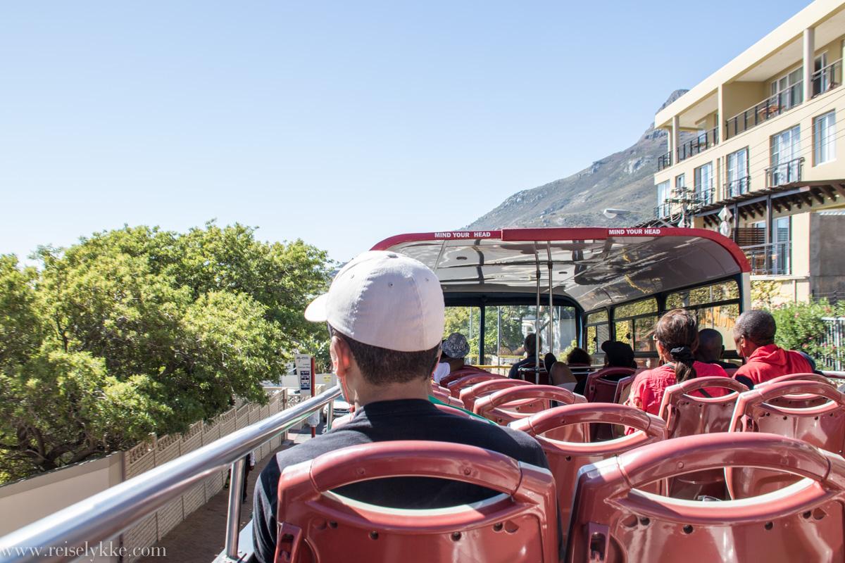Hop on hop off buss i Cape Town