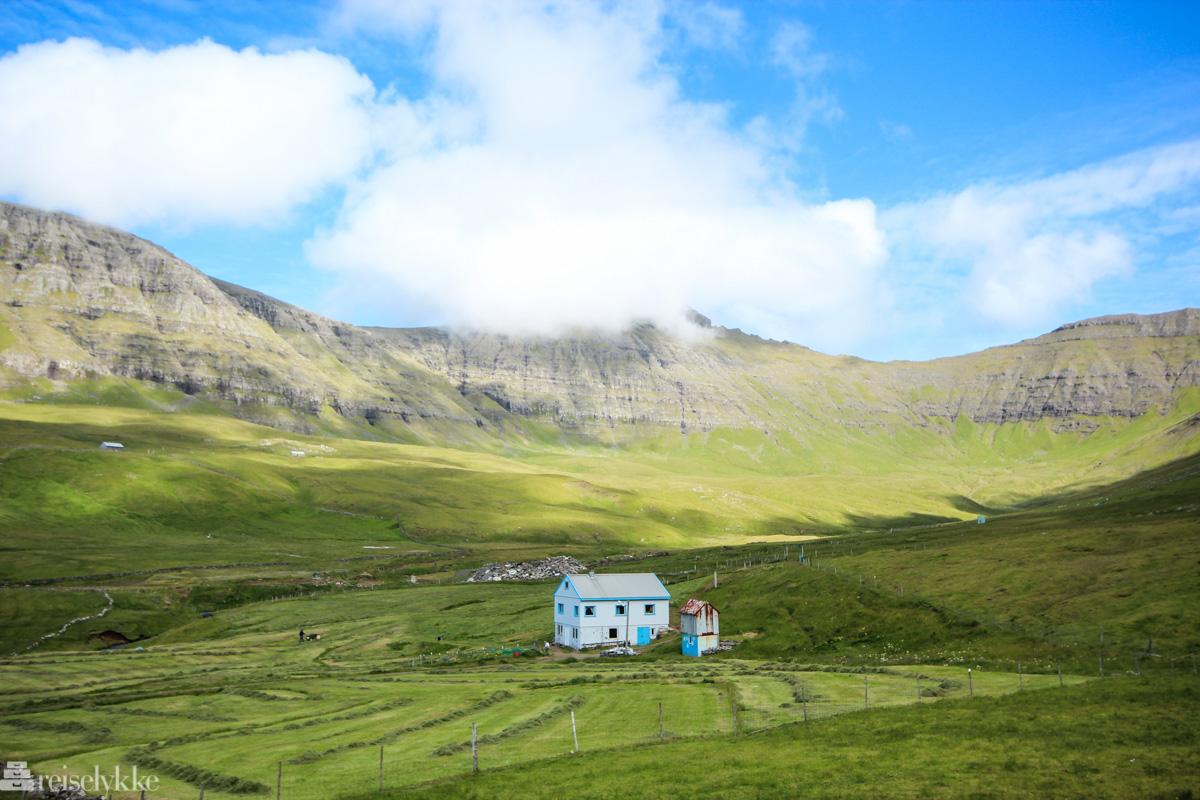 Hus og mark i Gásadalur