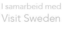 I samarbeid med Visit Sweden
