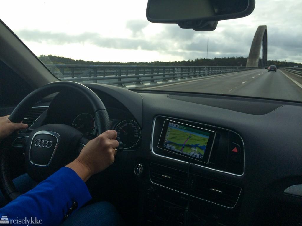 biltur til Gøteborg