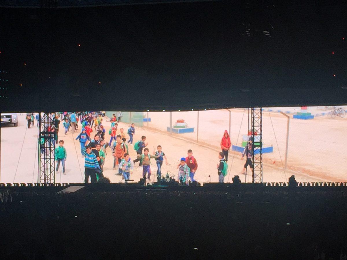U2 på Twickenham Stadion, London