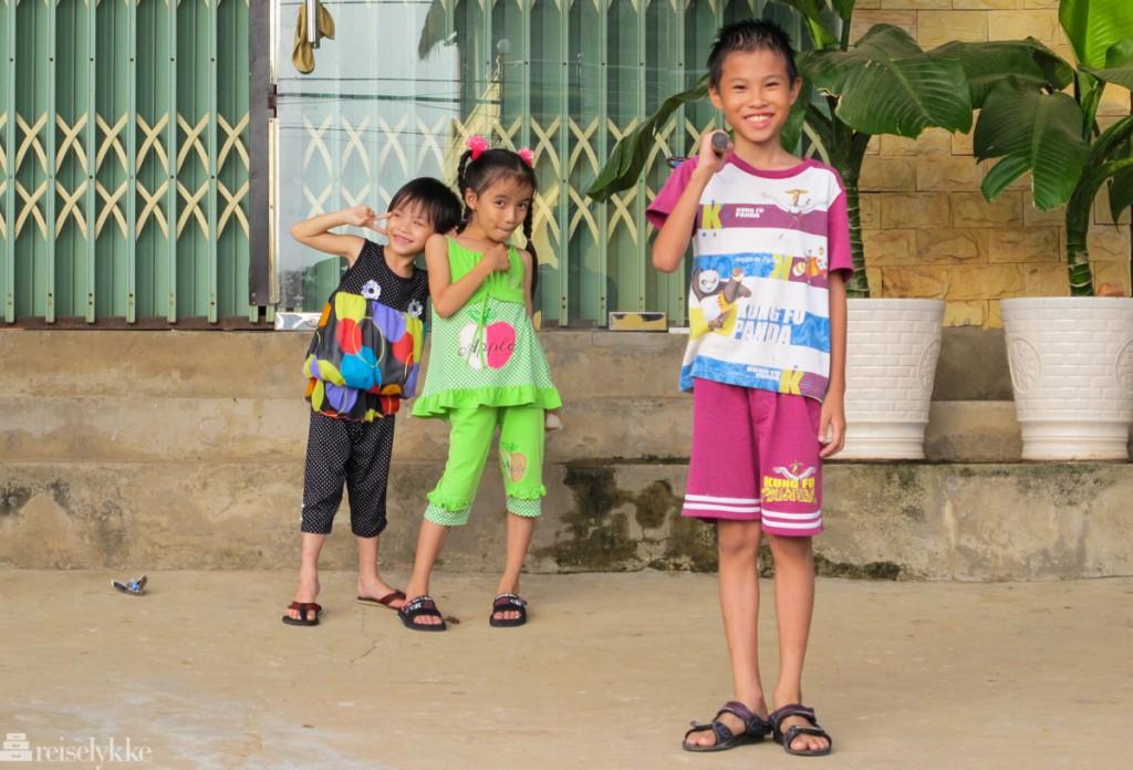 Vietnam: Barn på Phu Cuoq