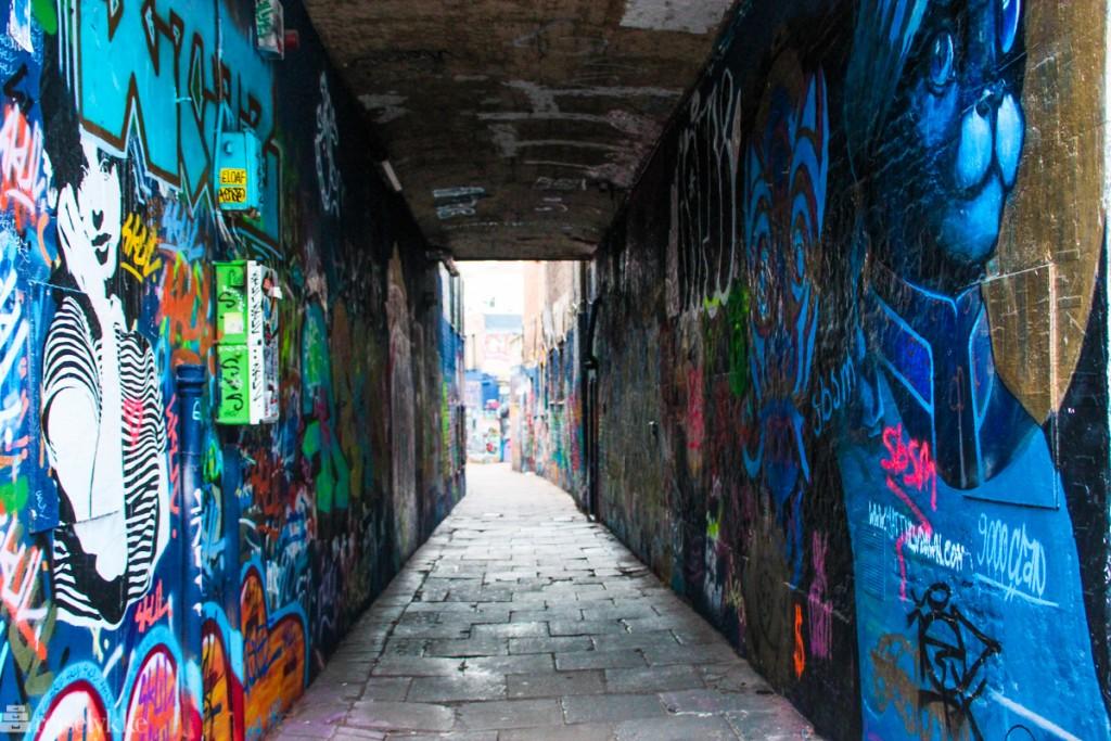 Flandern: streetart i Ghent