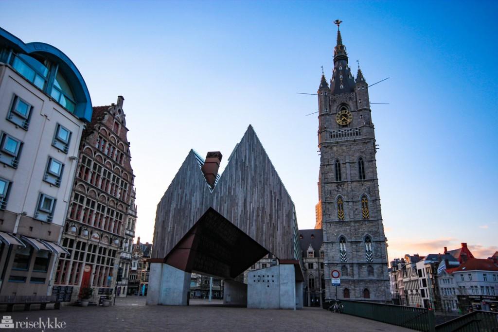 Flandern: Market Hall i Ghent