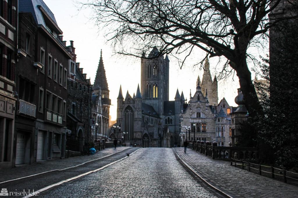 Flandern: Ghent før soloppgang