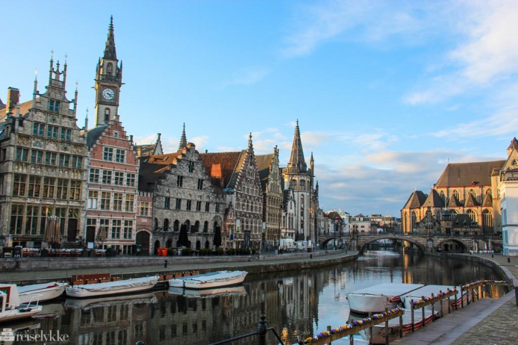 Ghent i Flandern
