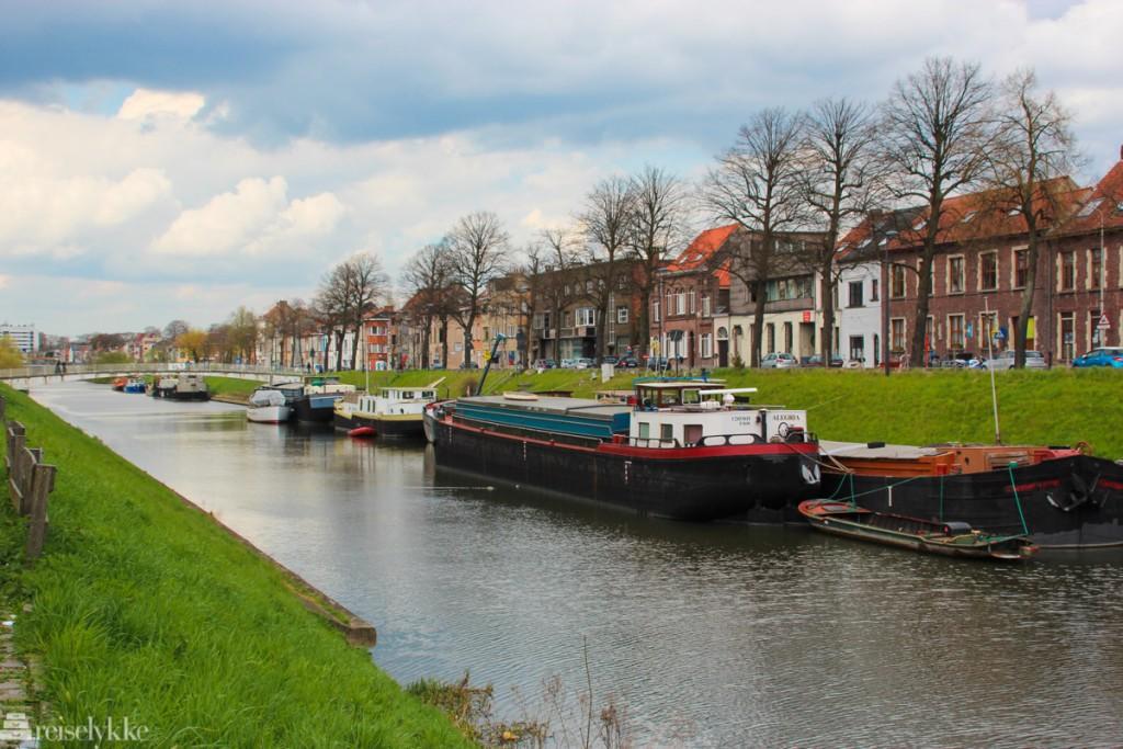 Flandern: bilde av kanalen