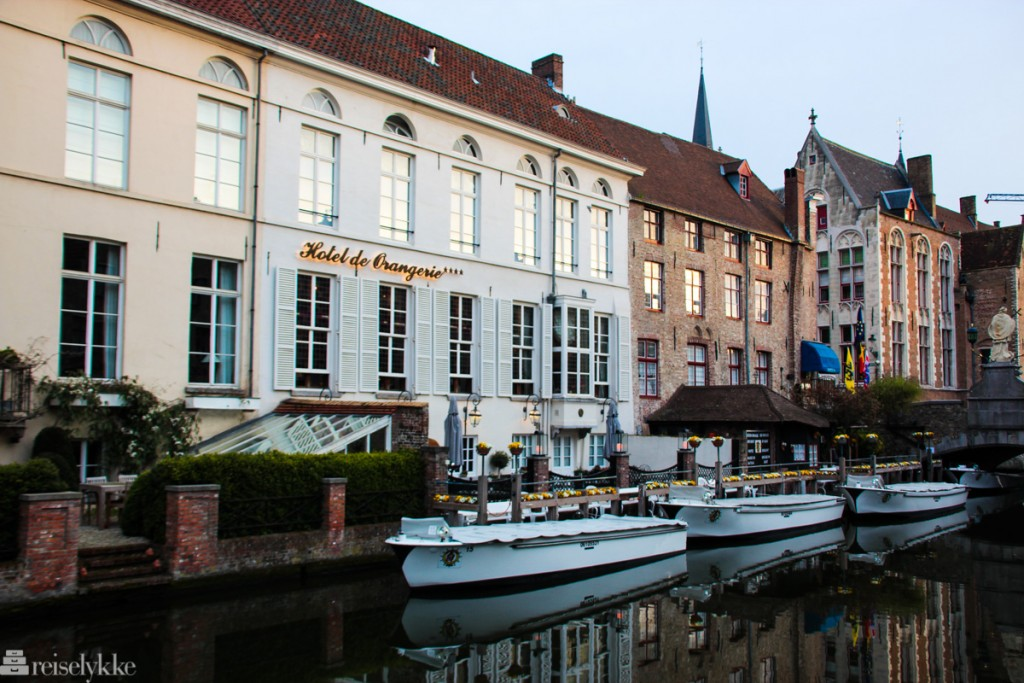 Hotel de Orangerie i Brugge