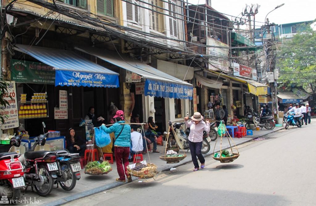 Hanoi: gateliv i gamlebyen