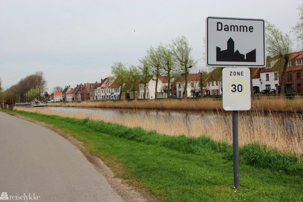 Flandern: på vei til Damme