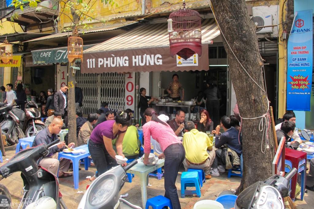 Gateliv i Hanoi