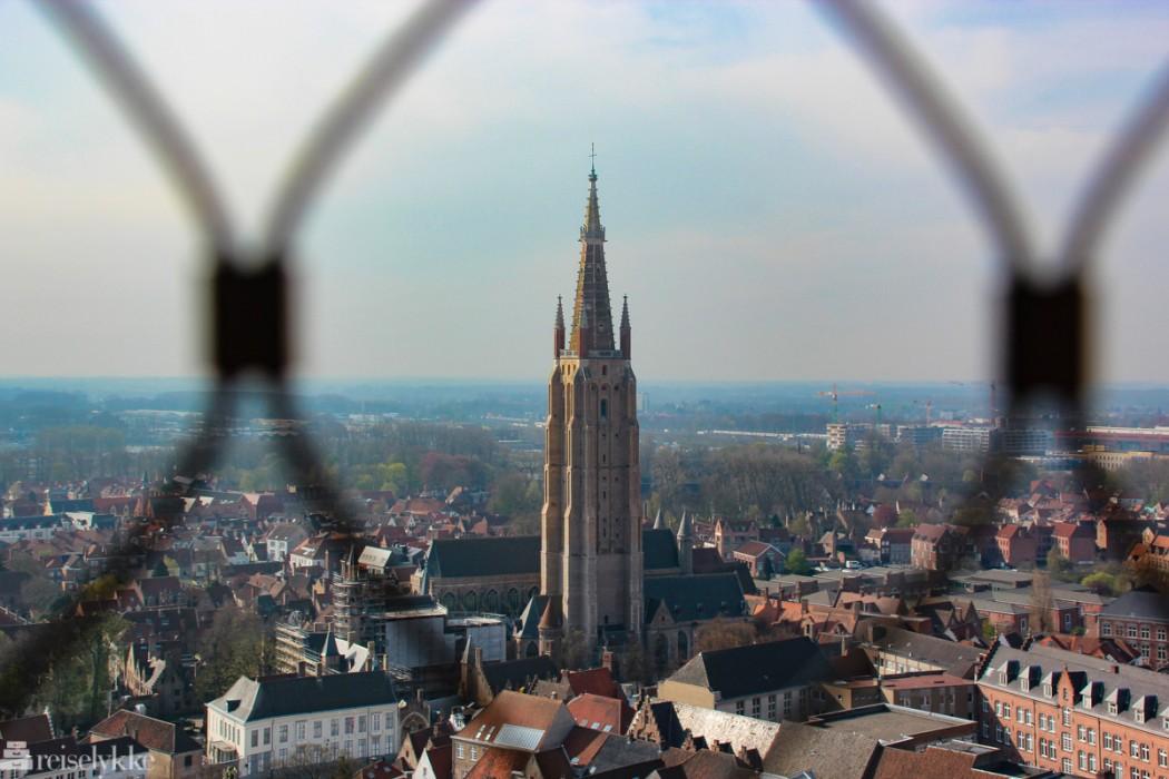 Brugge sett fra oven