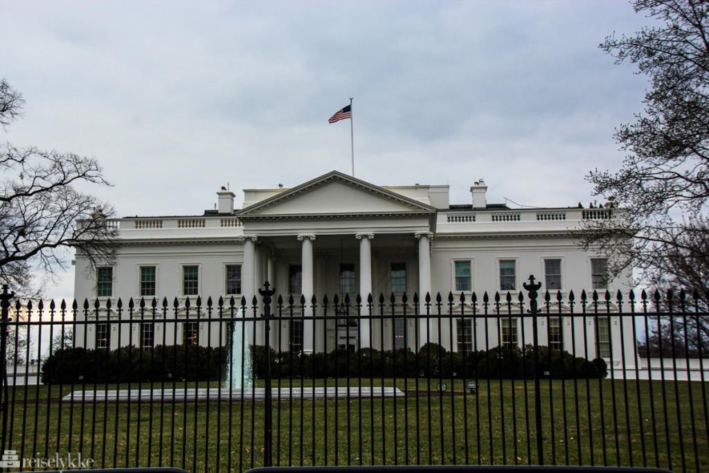Reiseopplevelser ut av New York: Washington DC, Det hvite hus