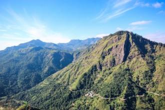 Ella, Sri Lanka: fjelltopper og teplantasjer