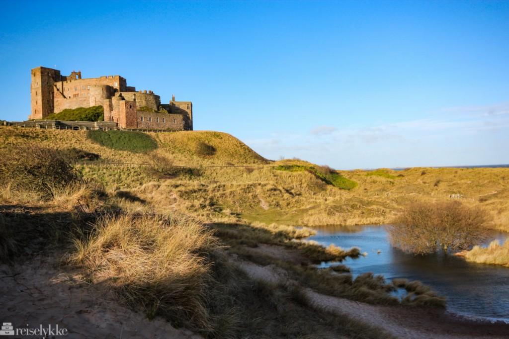 Bamburg Castle - et slott i Northumberland