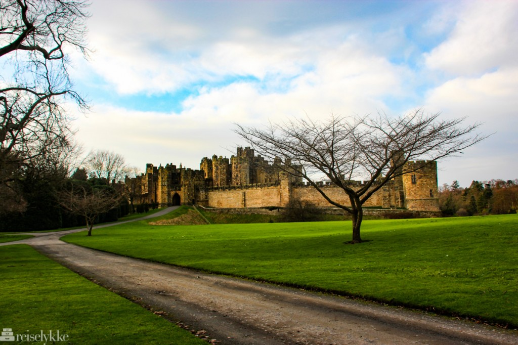 Alnwick Castle - et slott i Northumberland
