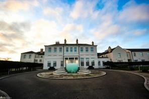 Seaham Hall i Northumberland, Nord-England