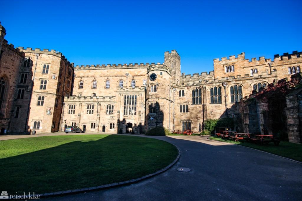 Durham Castle - et slott i Northumberland
