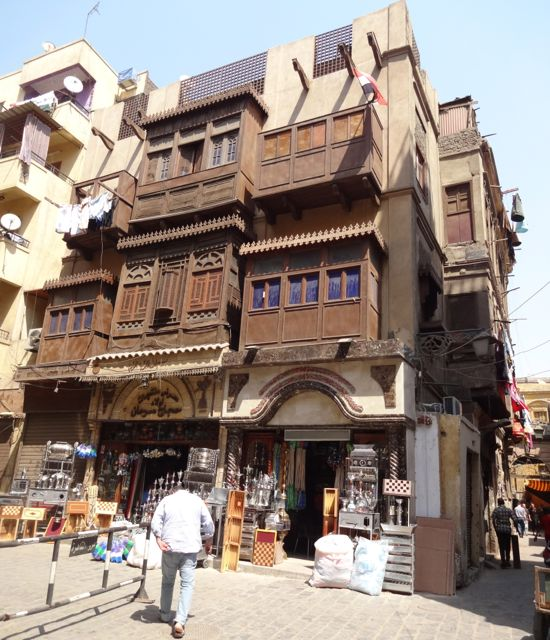 Arkitekturen i Islamic Cairo er helt spesiell Foto: Mette S. Fjeldheim