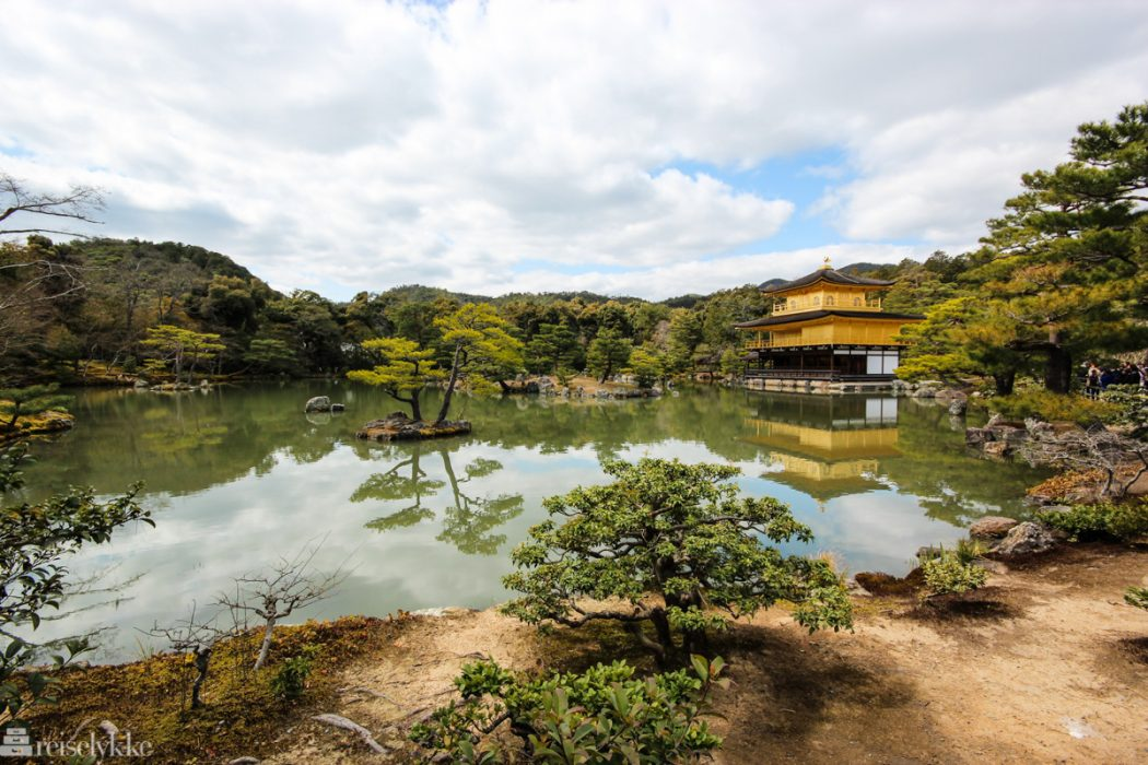 Golden Pavilion i Kyoto, Japan