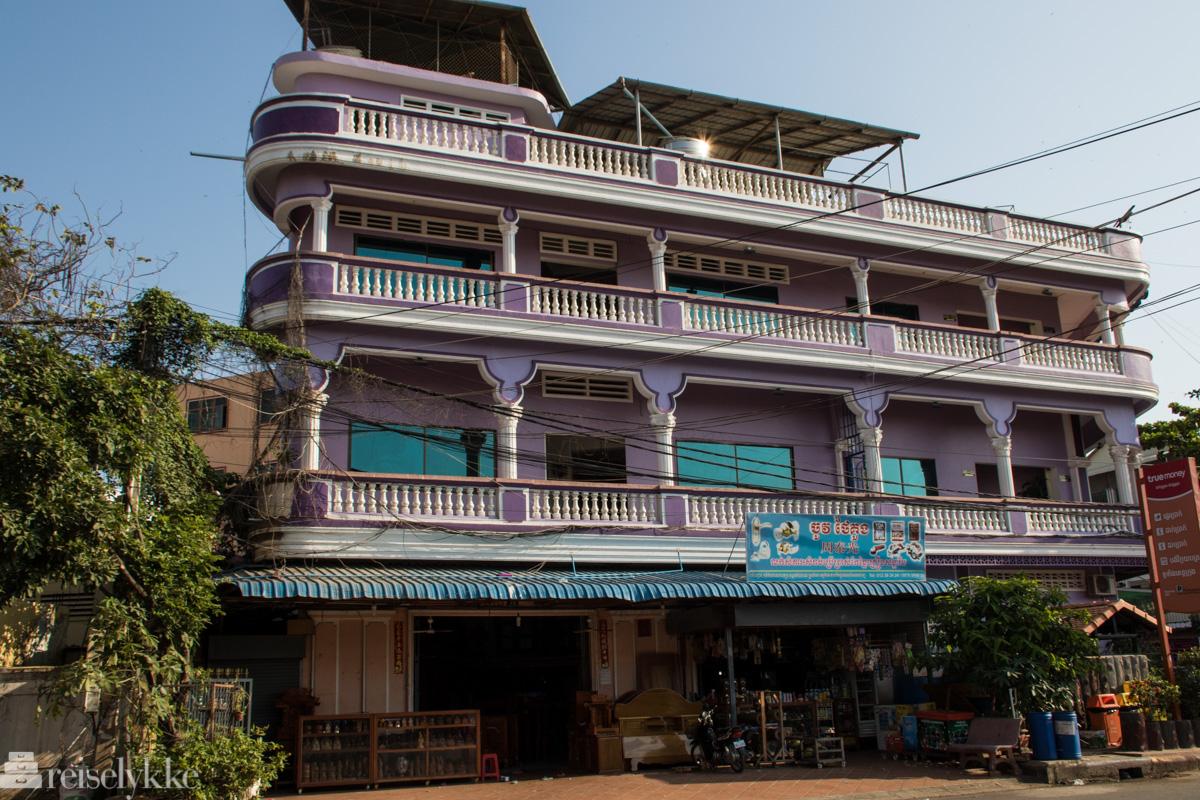 Kampot arkitektur, Kambodsja