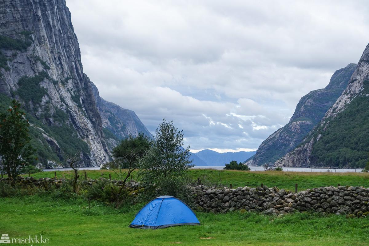 Kjerag Lysebotn Camping Resort