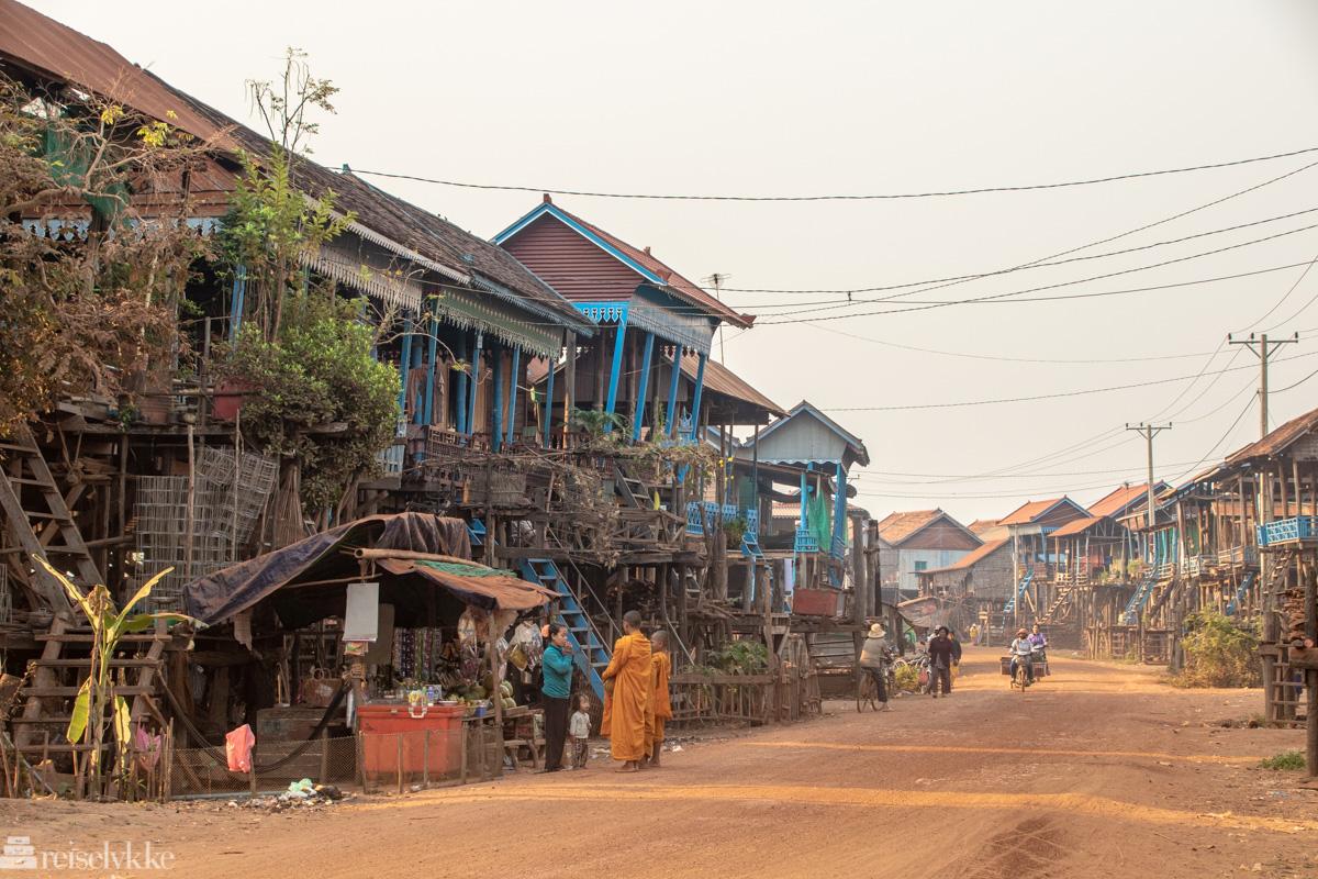 Landsbygd Kambodsja
