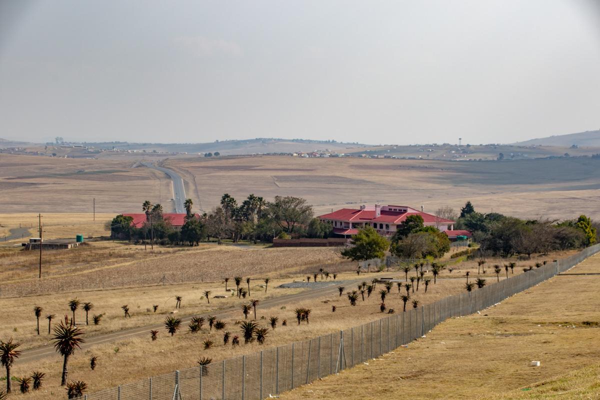 Mandela hus i Qunu