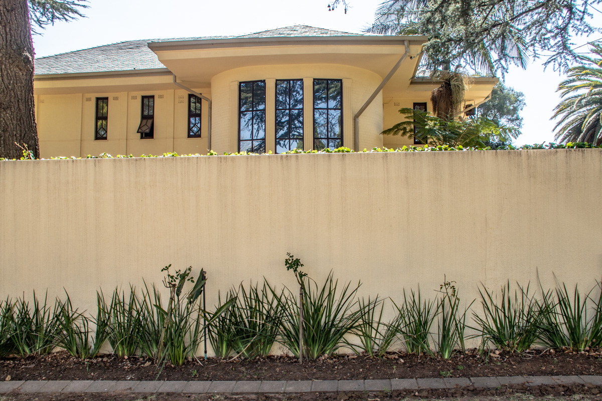Mandelas hjem i Houghton