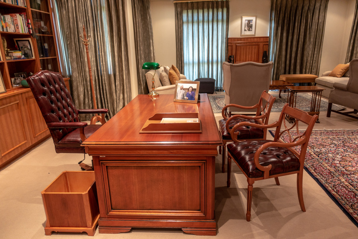Mandelas kontor