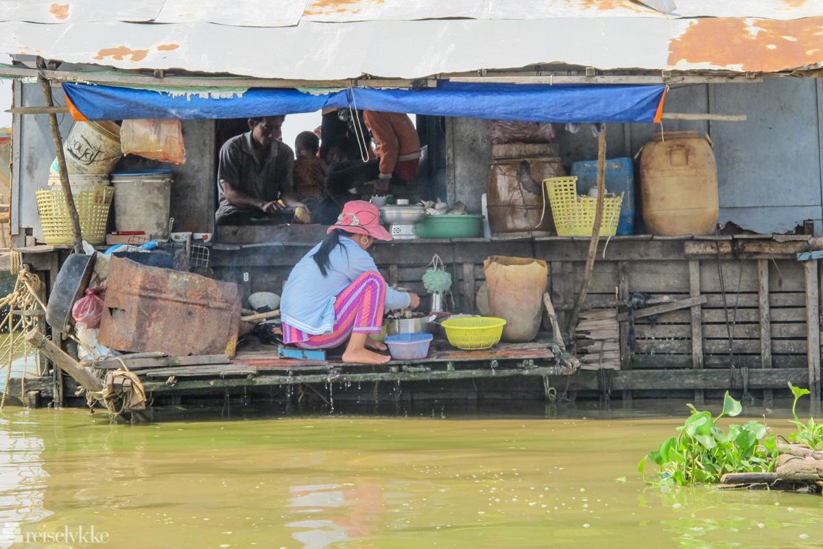 Matlaging på Tonle Sap