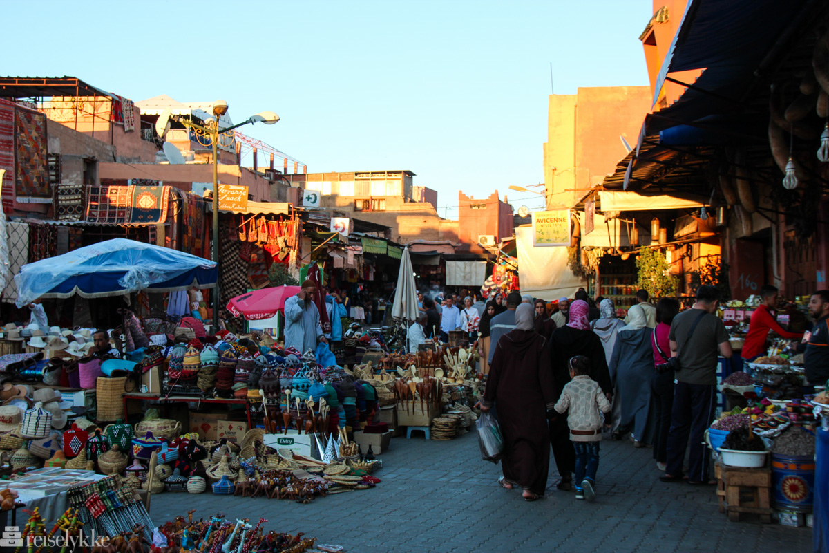 Medinaen i Marrakech