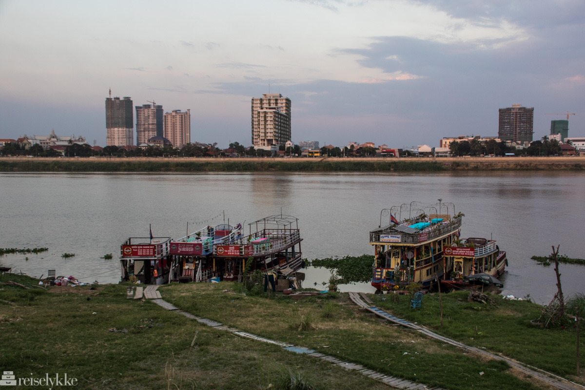 Mekong-elven, Phnom Penh