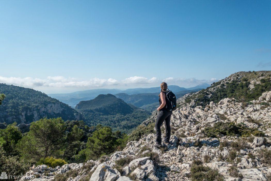 Mette i Serra de Tramunatana, Mallorca