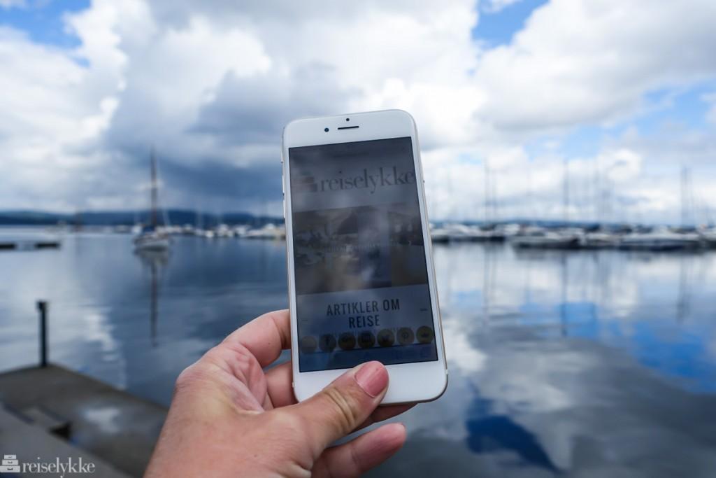 Nettsikkerhet på reise: mobilt nettverk uten sikret wifi