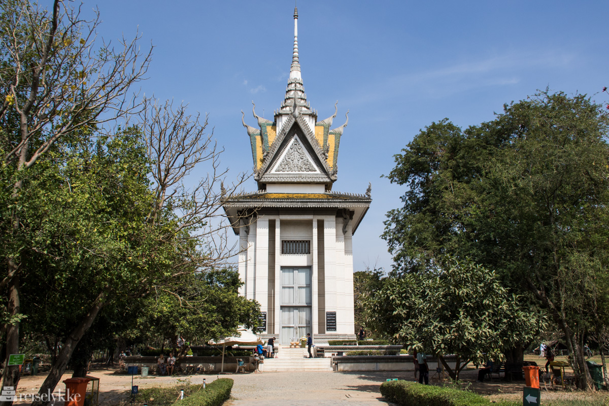 Pagoda, Killing Fields, Phnom Penh