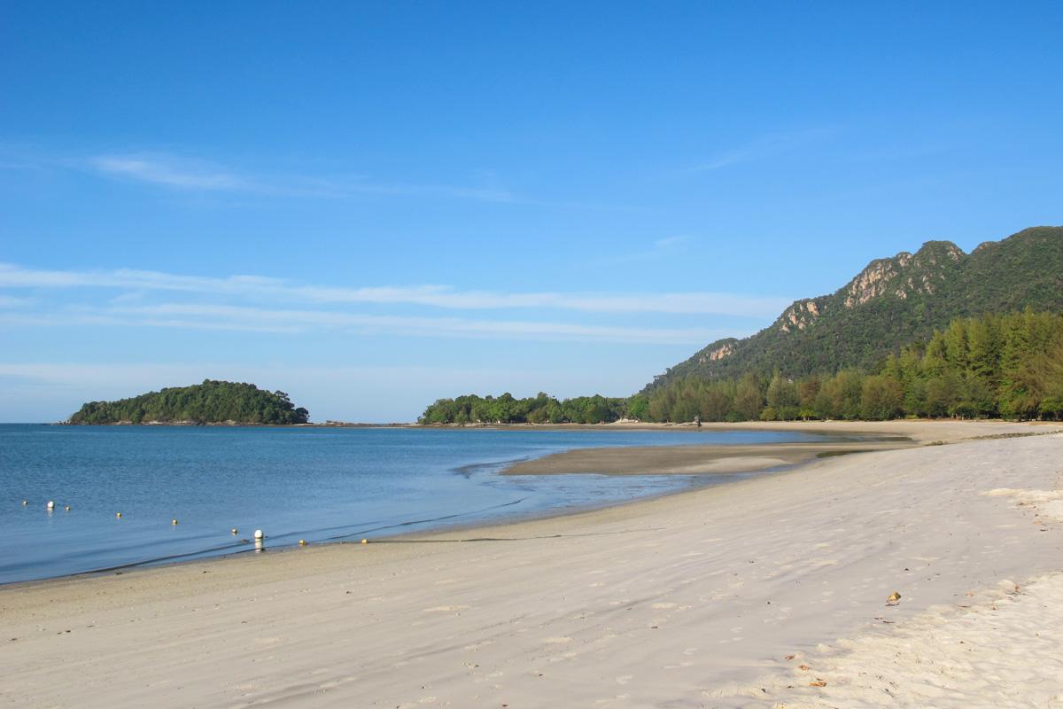 Pentai Kok strand på Langkawi