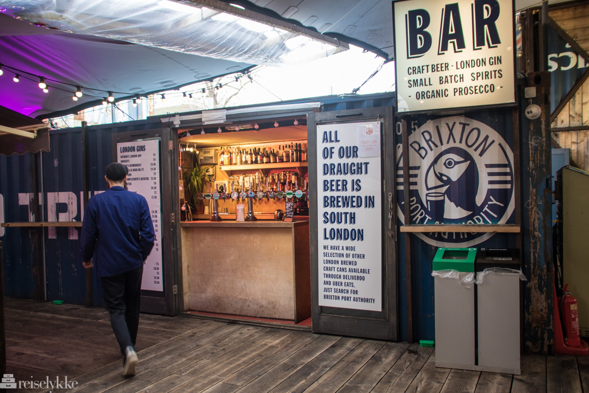 Pop Brixton Bar London
