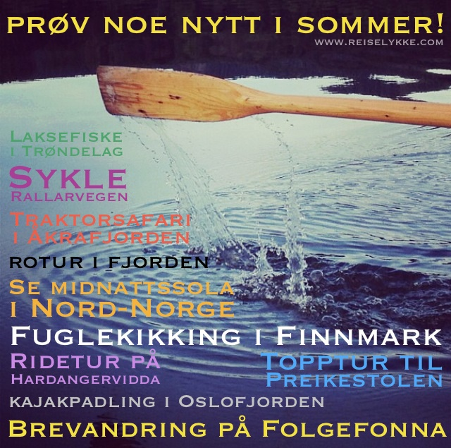 sommerferie i norge kontaktannonser