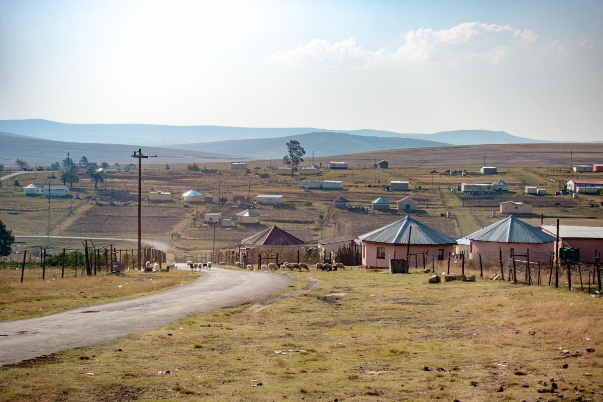 Qunu Mandelas landsby