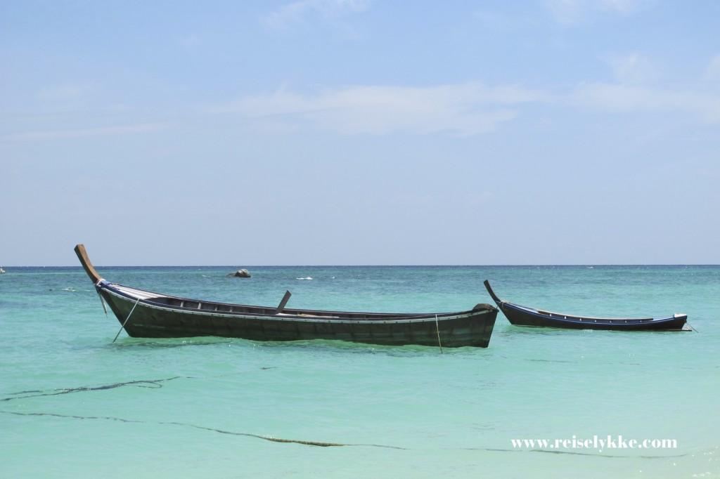 Reiselykke på Koh Lipe i Thailand