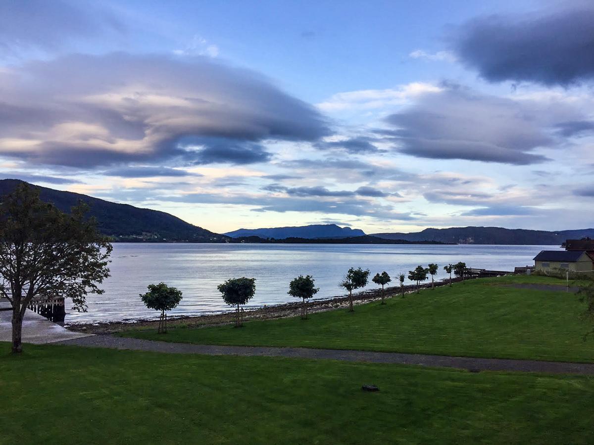Rosendal Fjordhotell utsikt