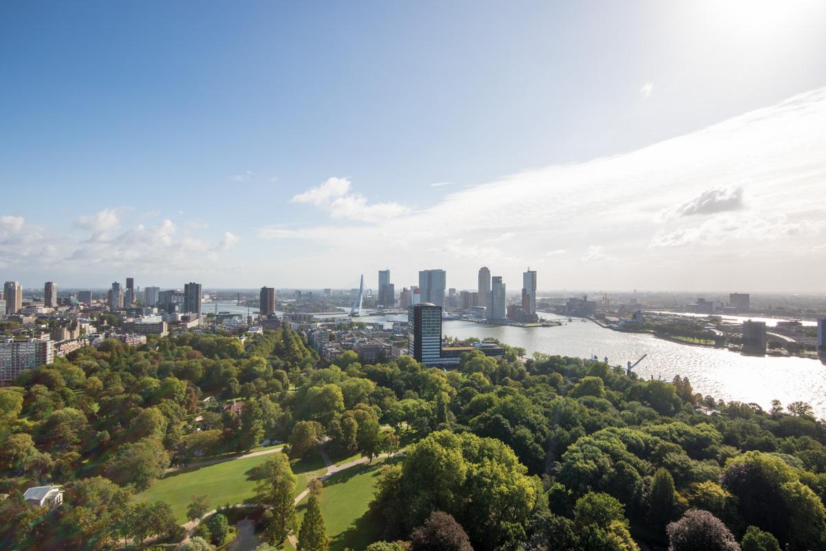 Rotterdam i Nederland