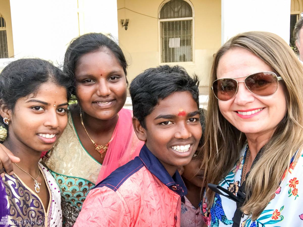 Selfie i Mysore