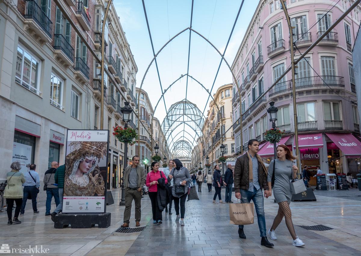Shopping i Málaga