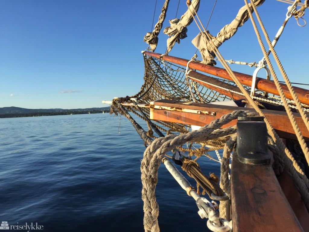 Skonnert i Oslofjorden