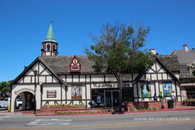 Tradisjonsrik dansk byggestil midt i California Foto: Mette S. Fjeldheim