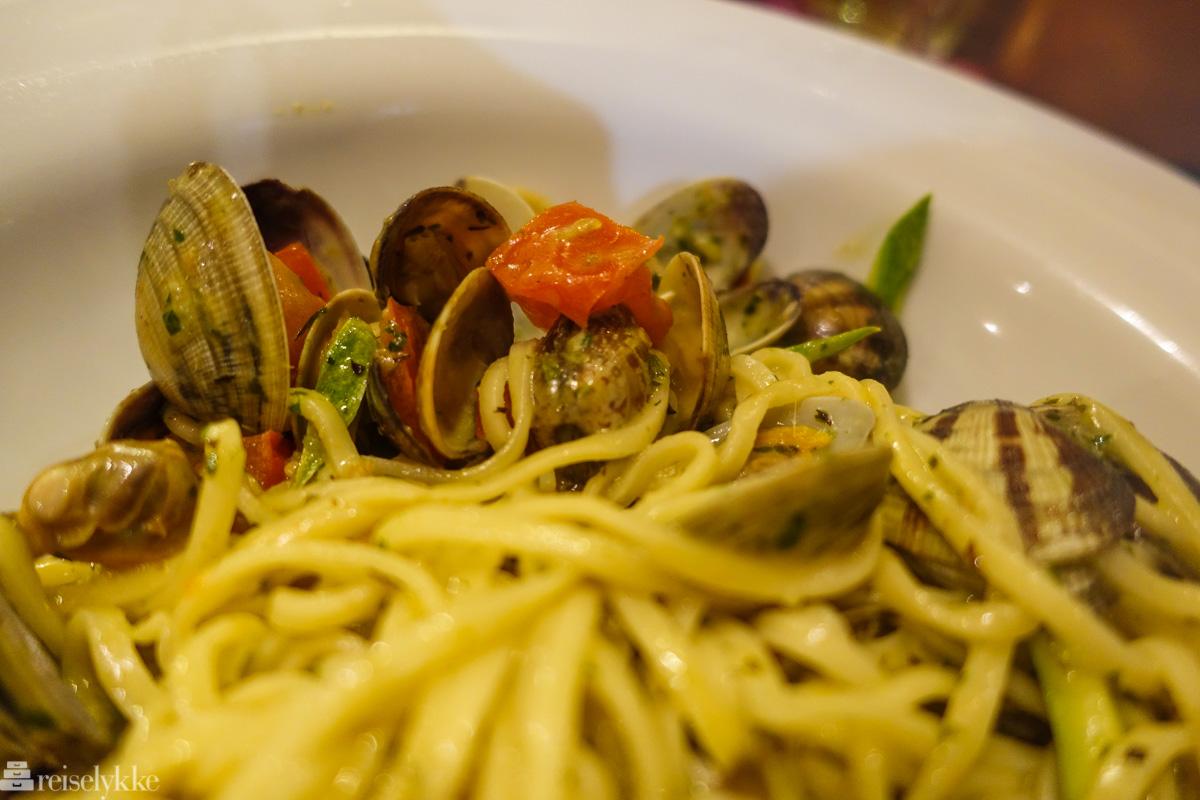 Spaghetti Vongole i Cinque Terre