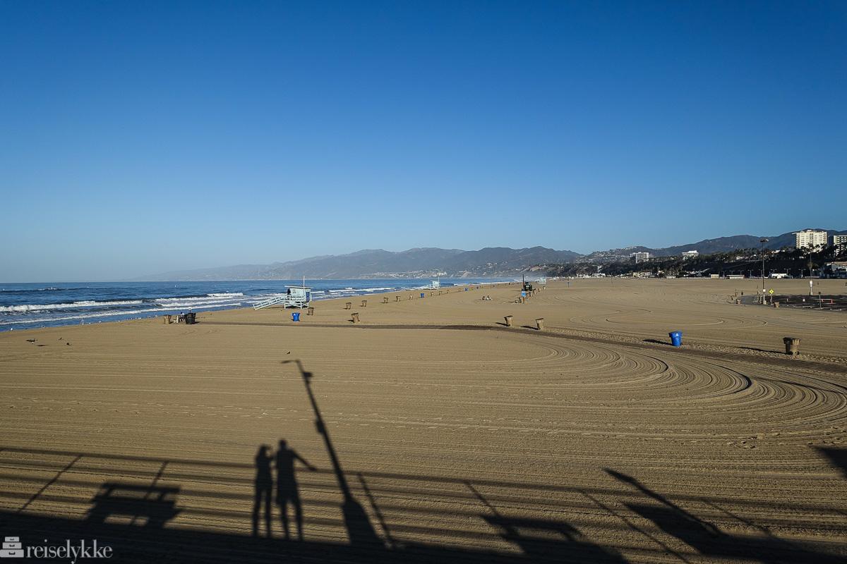 Stranden i Santa Monica